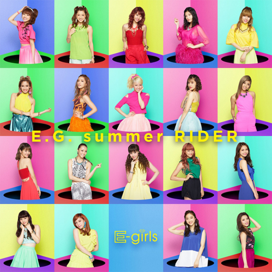 E-girls「E.G. summer RIDER」1