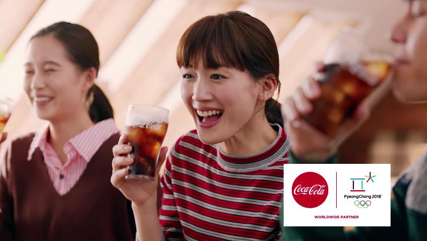 【コカ・コーラ】 平昌2018冬季オリンピックキャンペーン 「夢の舞台」篇 Coca-Cola TVCF