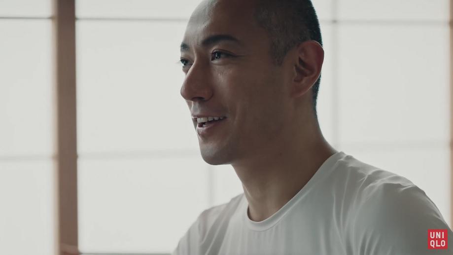 エアリズム 市川海老蔵篇 UNIQLO 2019 SS